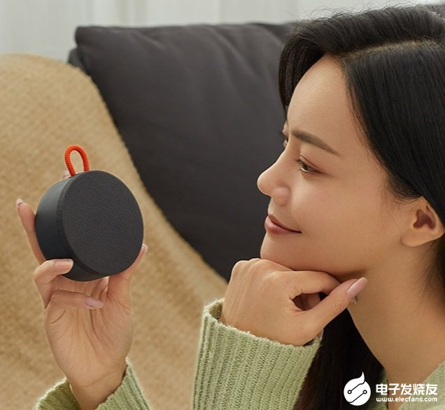 小米户外迷你蓝牙音箱推出,支持真无线立体声互联功能