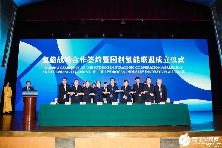 8家单位签署氢能战略合作框架协议,助力发展燃料电池