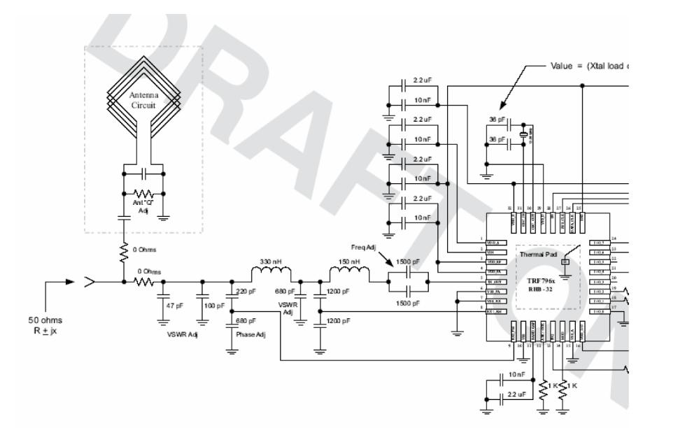 使用TRF7960读写器芯片设计需要注意那些问题