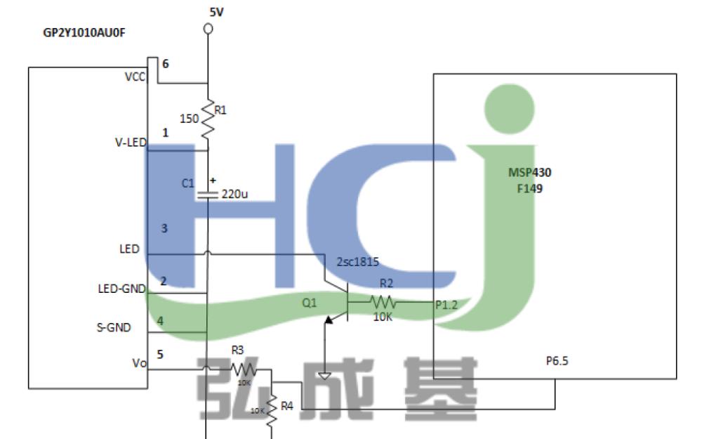 GP2Y1010AUOF灰尘传感器的使用说明