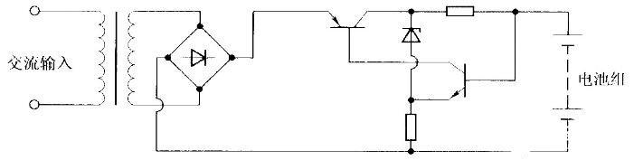 恒流充电电路图