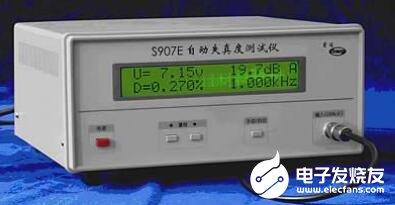 失真度测试仪的分类_失真度测试仪的特征