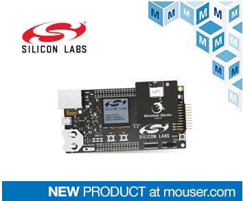 贸泽电子发布Silicon Labs xGM210P无线Gecko模块入门套件