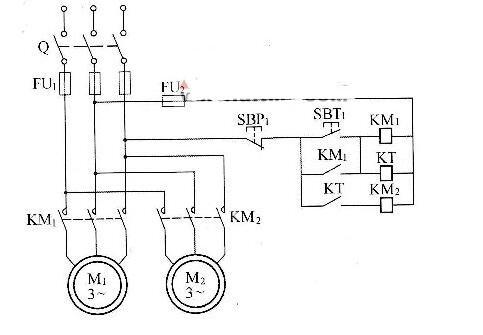 三相電動機的控制電路