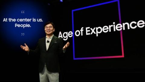 """三星电视Q950TS将""""体验""""二字做到极致 操控是最直观的""""体验"""""""