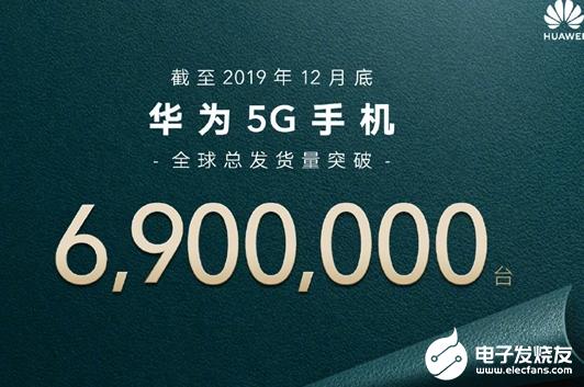 2019年华为超额完成年初目标 5G手机全球总发...