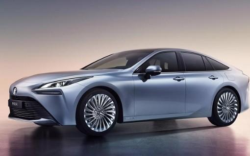 丰田量产版二代Mirai氢燃料汽车提升了30%的续航能力