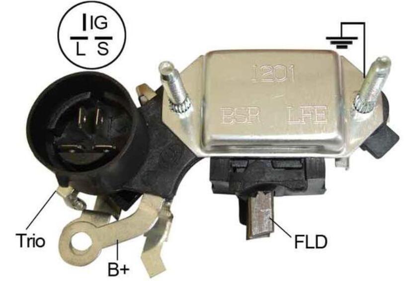 发电机调节器怎么测量好坏