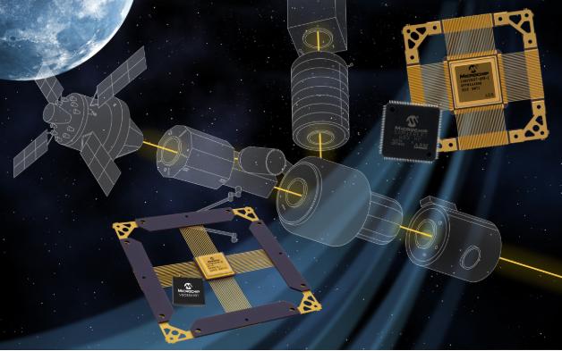 Microchip发布业界首款宇航级耐辐射以太网...