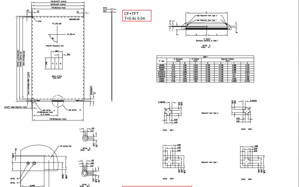 F101A35-602液晶顯示模塊的數據手冊