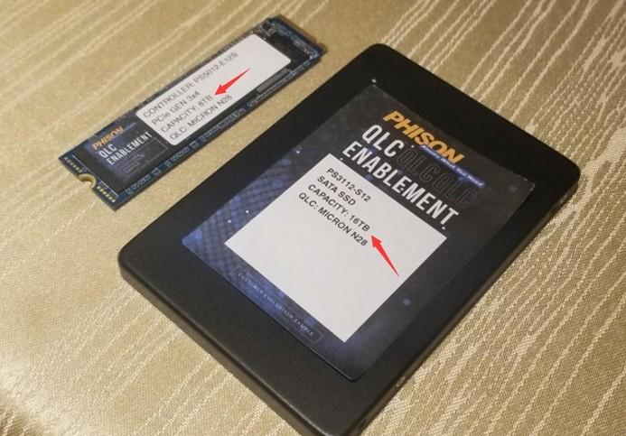 群联大幅缩小SSD主控体积,更易实现大容量SSD