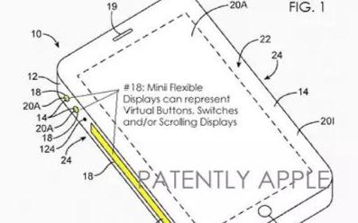 苹果触控新专利曝光,iPhone的边框都是触摸屏