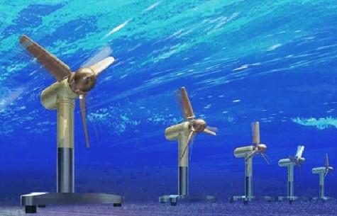 迈上新台阶,我国最大潮流能发电机组制造成功