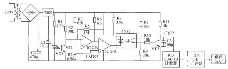 光電計數電路圖