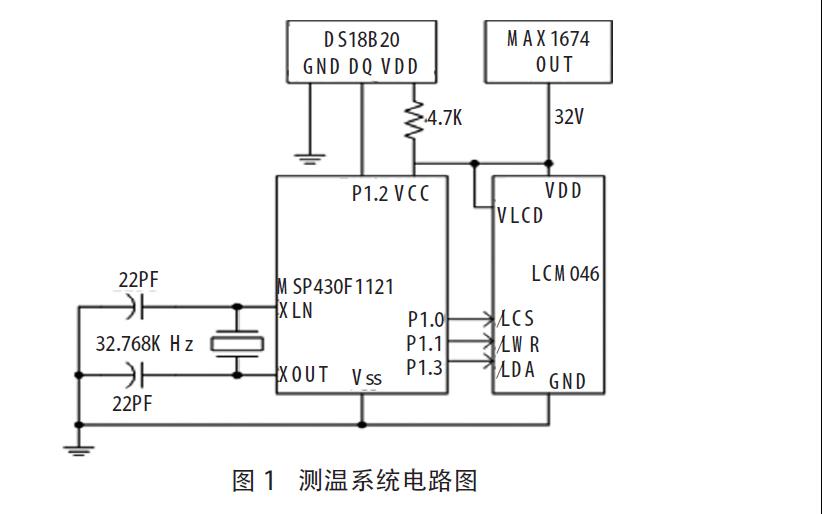 如何使用MSP430单片机和DS18B20设计实现小型测温系统