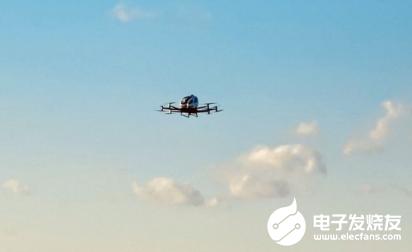 亿航无人机在美完成首飞 为搭载乘客试飞的许可奠定了基础