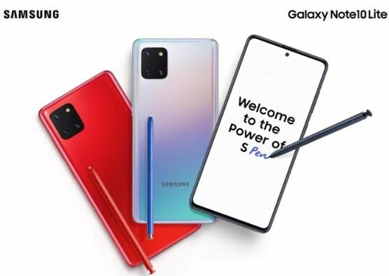 三星Galaxy Note10 Lite手机的印度出售定价爆出,和一加7T差不多