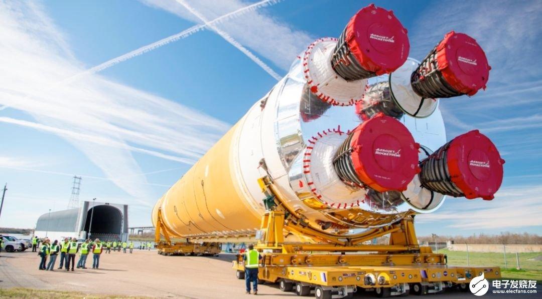 NASA SLS首飞箭芯级将开展一系列关键测试