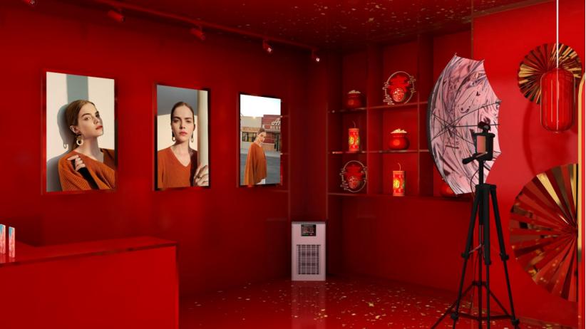 ?vivo开了一家年味影像馆,成春节最佳网红打卡地