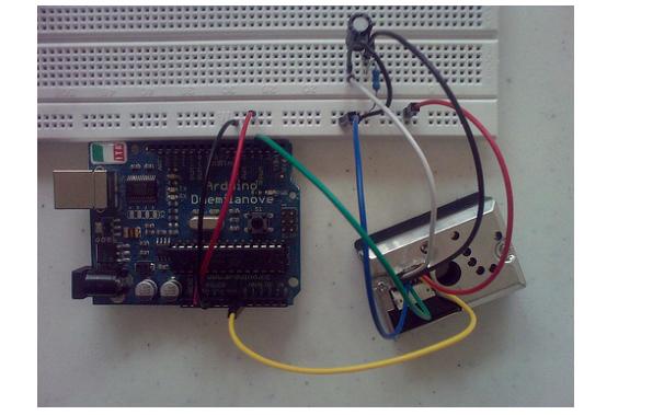 GP2Y1010AU0F灰尘传感器的使用程序免费下载
