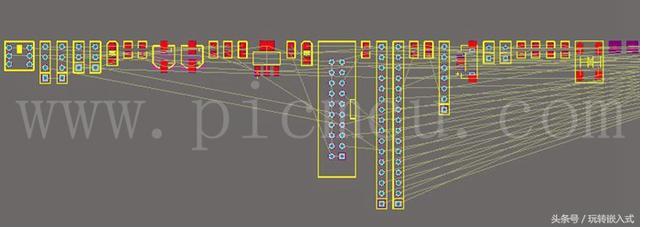 PCB设计时如何将批量的元器件快速分类并摆放在一...