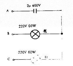 电源相序指示电路图