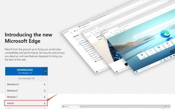 微軟發布適用于macOS的新版Edge瀏覽器