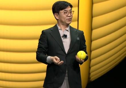 三星推出小型球狀機器人Ballie,可實現與智能家居設備進行交互