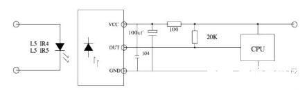一体红外线接收头基本应用电路