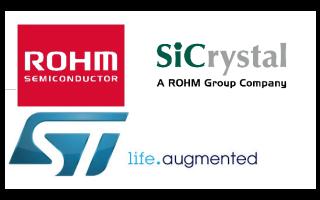 罗姆下的SiCrystal公司与长期客户ST签订碳化硅晶圆长期供应协议