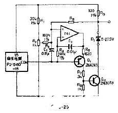 采用运算放大器构成的电路图