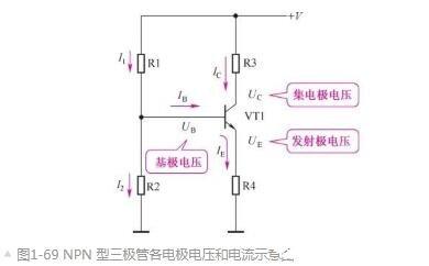 三极管各电极电压与电流的关系