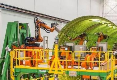 波音公司已放弃了用于自动组装777飞机机身的大型机器人系统