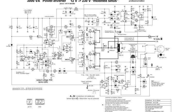 大功率逆变器电路图免费下载