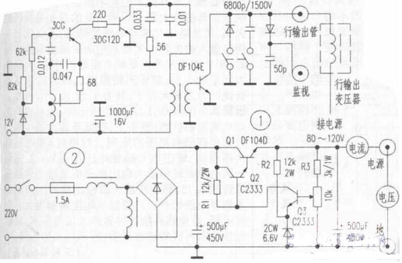行输出变压器检测方法