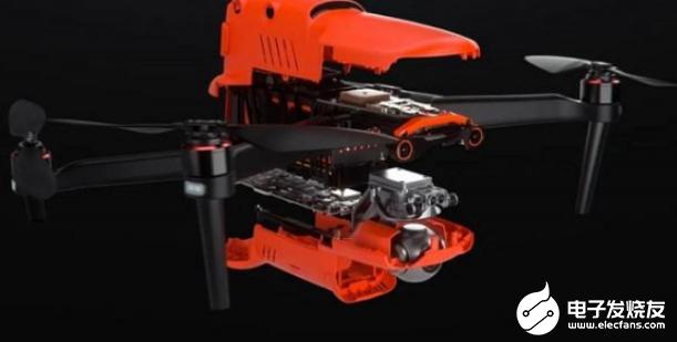 一款采用了可折叠设计的无人机亮相CES 有配备6K摄像头的Pro机型