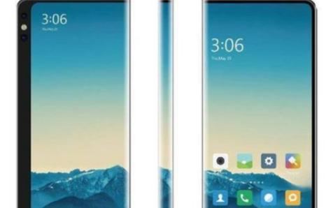 小米公布新专利,具有环绕显示屏的双面智能手机