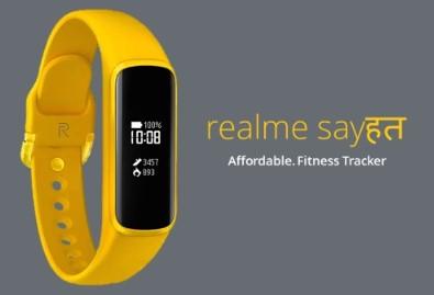 realme首款智能手环渲染图公布,长方形屏幕和...