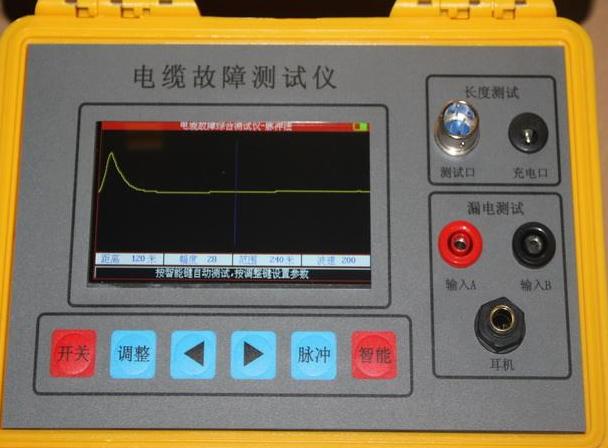 地埋电缆故障测试仪的操作步骤