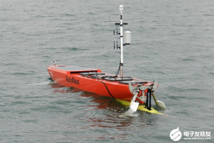科学家开发出一种无人驾驶水面舰艇 可用来部署AUV新的系统