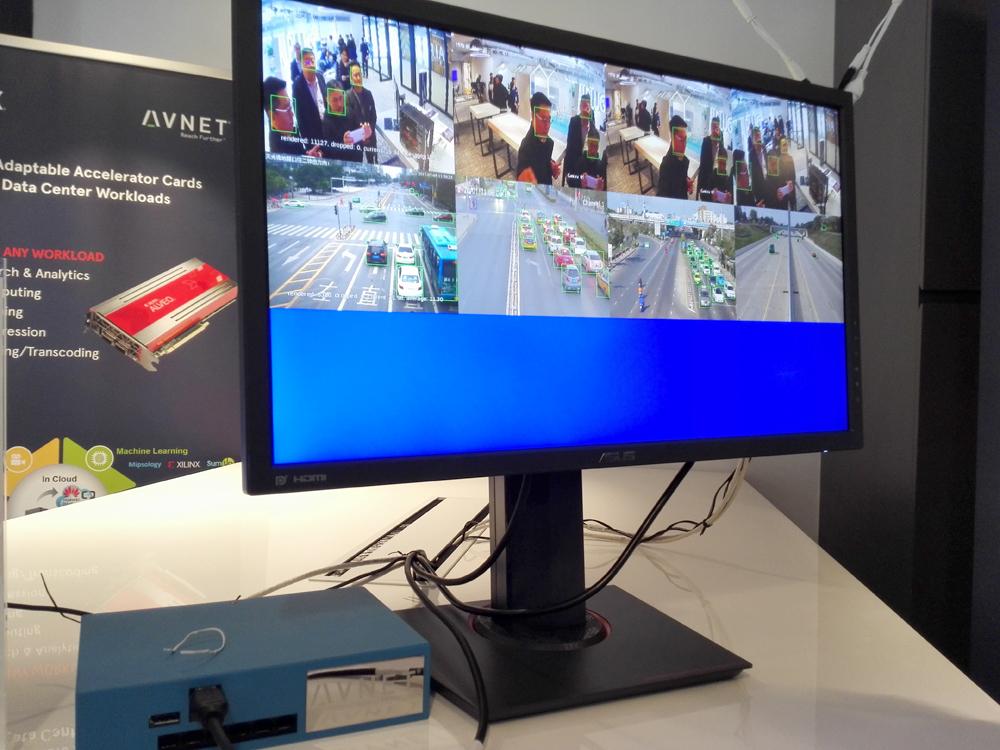 多通道AI边缘开发平台采用Zynq UltraScale+ MPSoC ZCU104