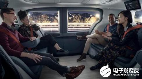 通用發布首款無人駕駛汽車 該車最多可容納六人