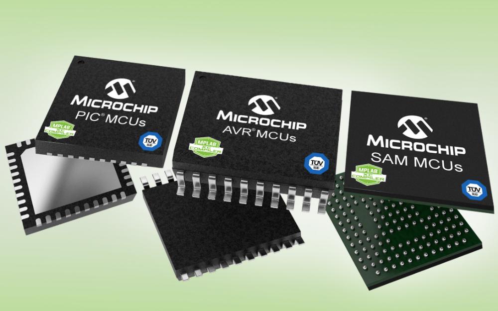 Microchip推出經TüV SüD認證的MPLAB?工具,簡化功能安全要求