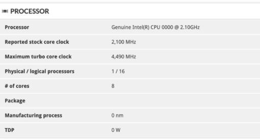 英特爾8核移動處理器旗艦產品i7-10875H曝光,將在3月底推出
