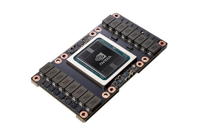 英伟达加速部署下一代GPU,7纳米GPU性能有希望提升100%