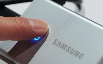 三星最新发布带指纹加密技术的外置SSD