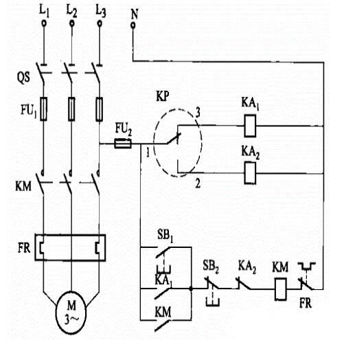水泵恒水压控制电路图