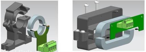 开口式霍尔电流传感器在配电系统中的应用原理解析