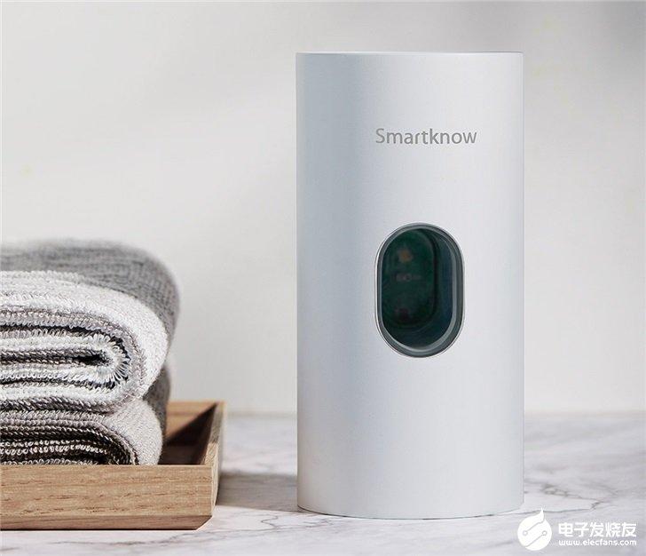 小米Smartknow自动感应牙膏机,采用红外线传感器感应
