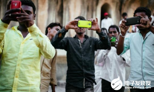 中國手機性價比高 企業在印度市場繼續取得增長